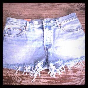 Levi's 501 Original fit cutoff shorts
